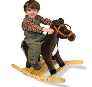Rocking horse for toddlers