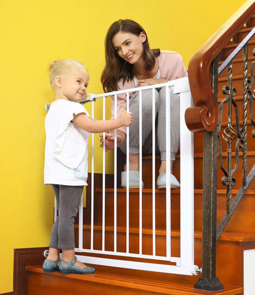 Baby Gates For Stairways And Doorways