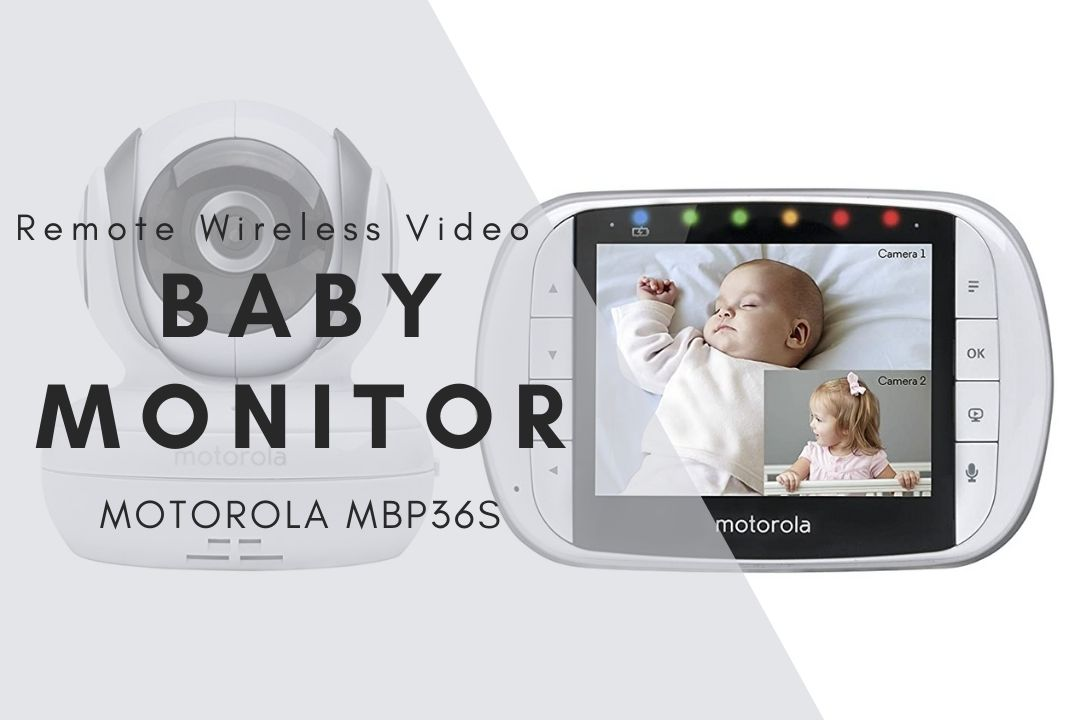 Remote Wireless Video Baby Monitor