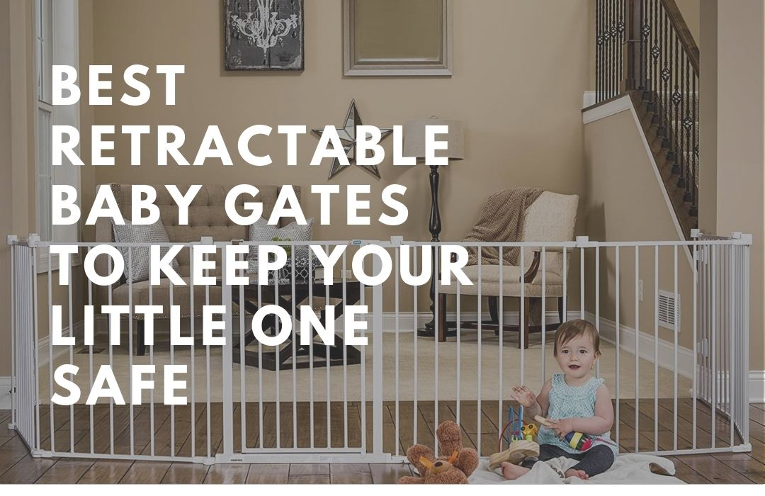 Best Retractable Baby Gates To Keep Your Little One Safe (2)