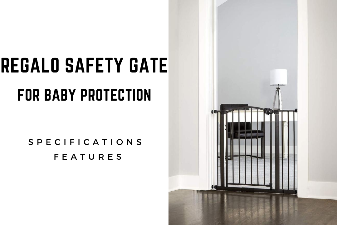 Regalo Baby Arched Décor Safety Gate For Protection