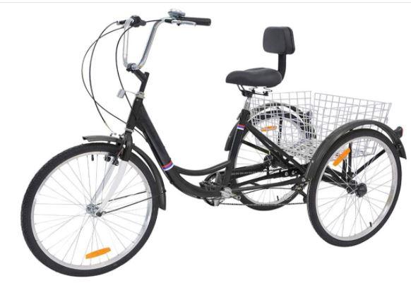 Adult Tricycles 7 Speed Adult Trike 3 Wheel Bikes