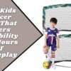 Dimples Excel Foldable Portable Mini Kids Goal (3)