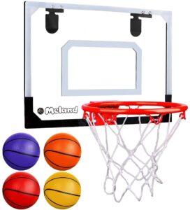 Meland indoor basketball hoop