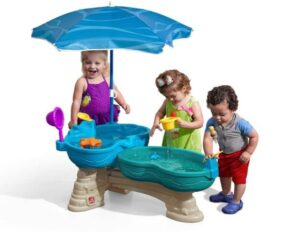Spill & Splash Seaway Water Table for toddlers