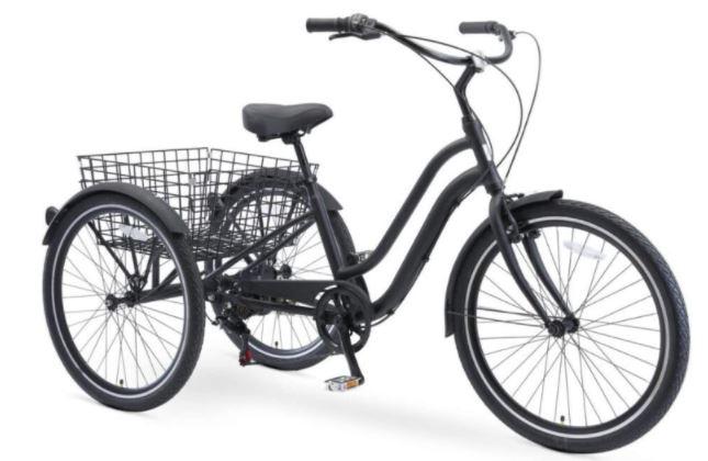 sixthreezero EVRYjourney 26 Inch 7-Speed Hybrid Adult Tricycle