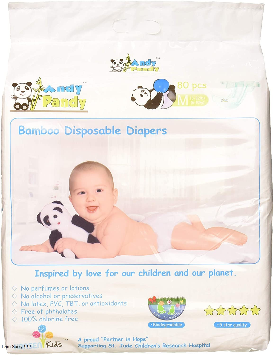 Andy Pandy Diaper