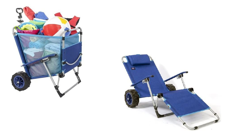 beach carts and wagons for kids