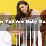 how tall are baby gates