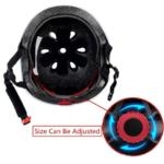 KAMUGO Kids Adjustable Helmet, with Sports Protective Gear