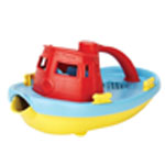 Green Toys My First Tug Boat: Baby bath toy