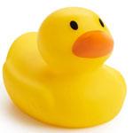 Munchkin White Hot Safety Bath Ducky Baby Toy