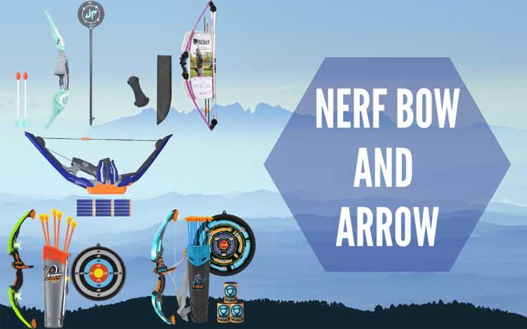 Nerf Bow And Arrow