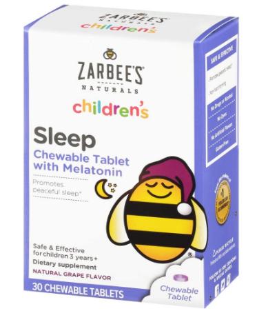 zarbee's melatonin reviews