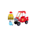 Little Tikes Fire Rescue Cozy Truck Themed Role Play Ride-On Toy