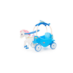 Little Tikes Princess Horse & Carriage – Frosty Blue Ride-On