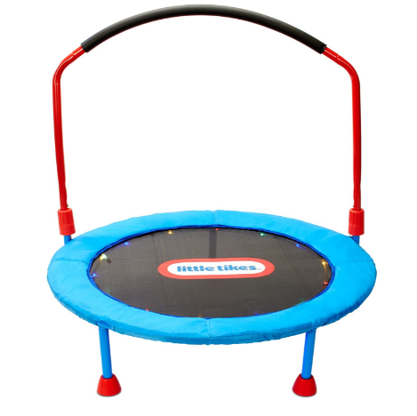 little tikes trampoline with side for kids